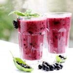 Batido de proteínas con Rooibos y fresas